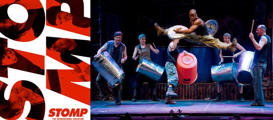 Stomp at Chapman Music Hall