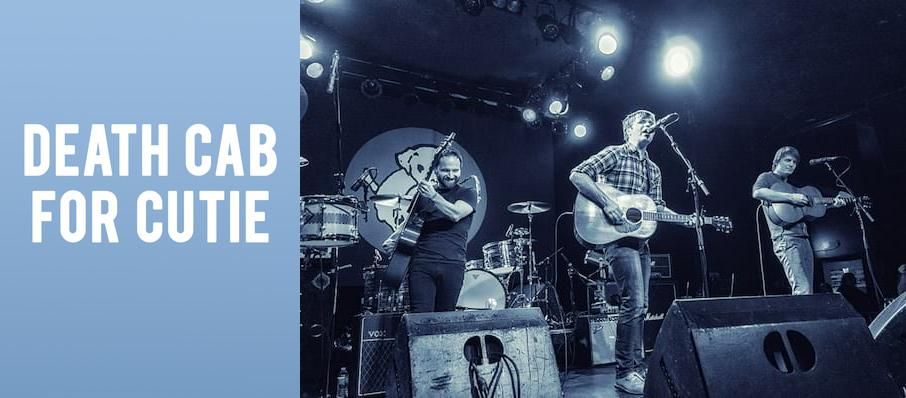 Death Cab For Cutie at Cains Ballroom