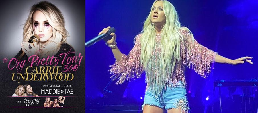 Carrie Underwood at Bank Of Oklahoma Center