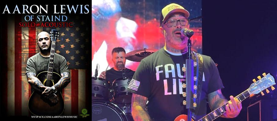 Aaron Lewis at Brady Theater