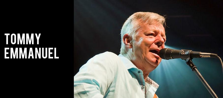 Tommy Emmanuel at Cox Business Center