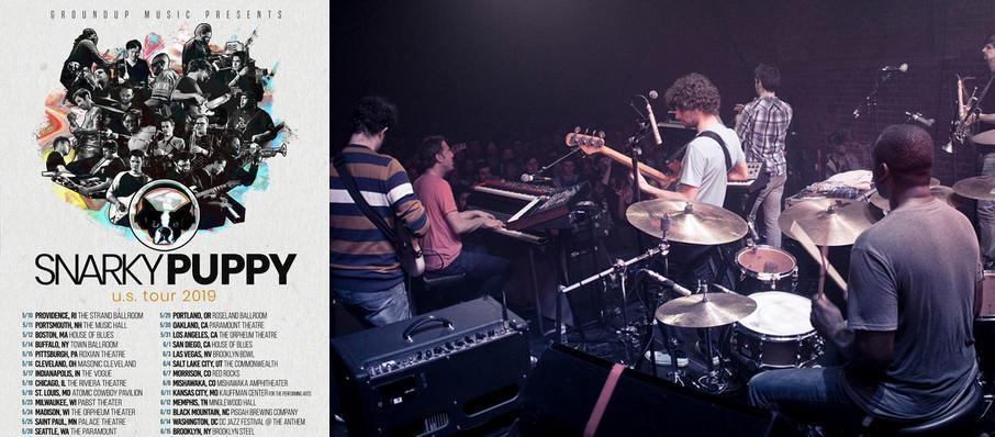 Snarky Puppy at Cains Ballroom