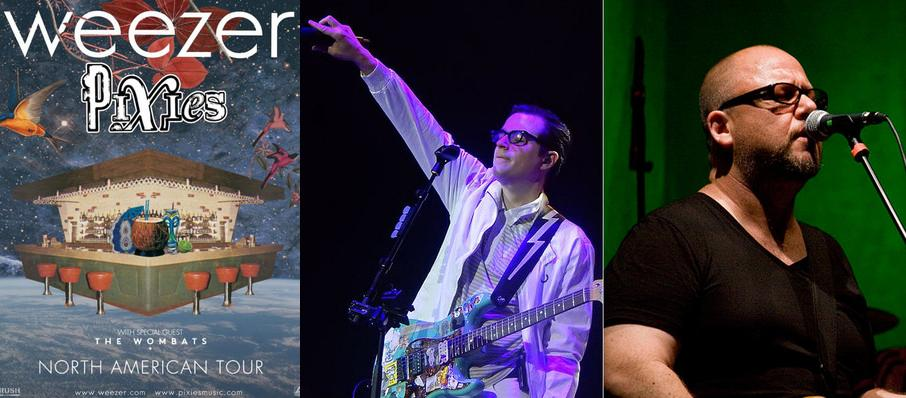Weezer and Pixies at Bank Of Oklahoma Center