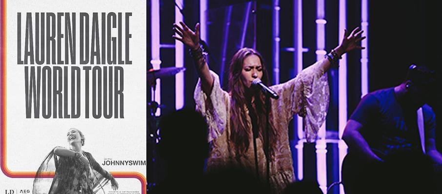 Lauren Daigle at Brady Theater