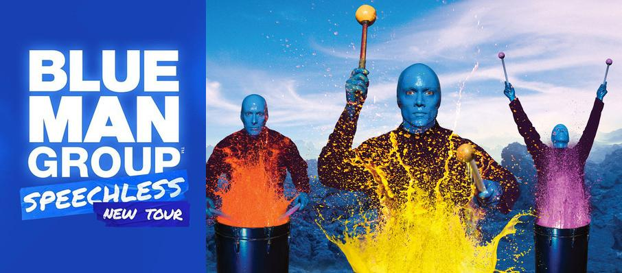 Blue Man Group at Chapman Music Hall