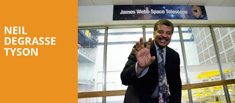 Neil DeGrasse Tyson, Assembly Hall at Cox Business Center, Tulsa