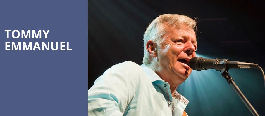 Tommy Emmanuel, Cox Business Center, Tulsa
