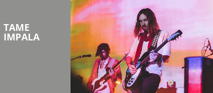 Tame Impala, Bank Of Oklahoma Center, Tulsa