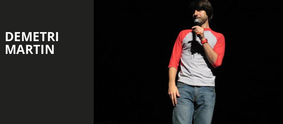 Demetri Martin, Assembly Hall at Cox Business Center, Tulsa