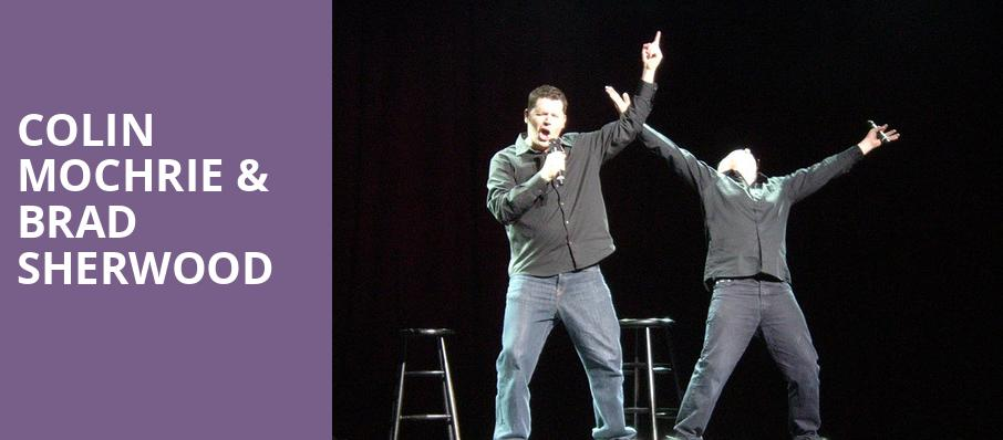 Colin Mochrie Brad Sherwood, Assembly Hall at Cox Business Center, Tulsa