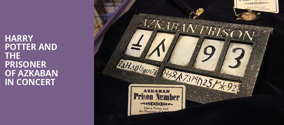 Harry Potter and the Prisoner of Azkaban in Concert, Chapman Music Hall, Tulsa