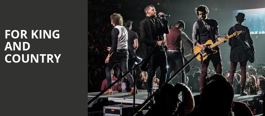 For King And Country, Mabee Center, Tulsa