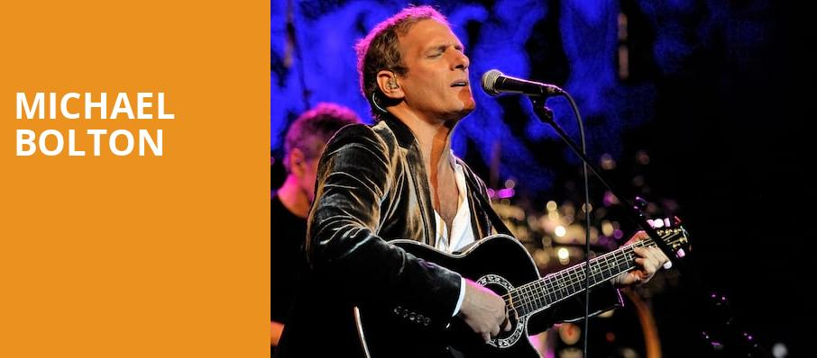 Michael Bolton, River Spirit Casino, Tulsa